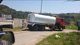UD290 Double Diff water tanker