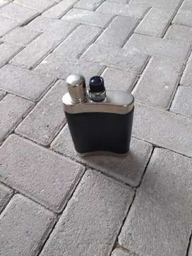 Antique Whisky flask