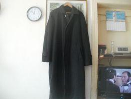 płaszcz męski z wełny i kaszmiru