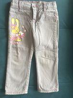 Джинсы на флисе, утеплённые брюки тёплые 2-3 года