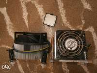 new Core2duo processor with 2 new fans with heatsink 0