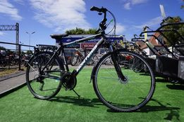 WYPRZ rower trekking Massive 3.0 dynamo shimano alivio 3x8 monteria 3l