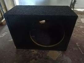 Pioneer subwoofer and sub box