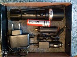 latarka taktyczna LED zoom