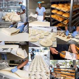 Manager for a bakery in Menlyn