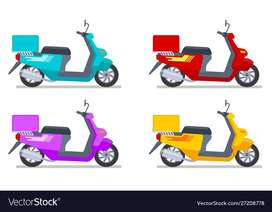 Looking for motorbike drivers