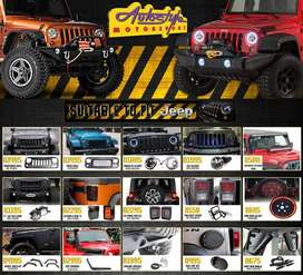 JEEP Wrangler, Sahara, Rubicon, 4x4, 4by 4, offroad, accessories, mags