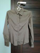 Koszula damska z długim rękawem beż beżowa rozm. 36 S H&M