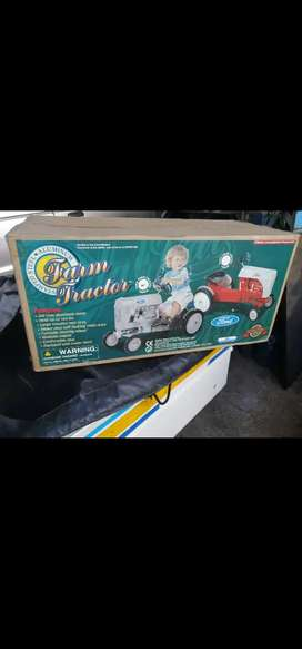 Ford Stamped Steel Aluminum Farm Pedal Tractor