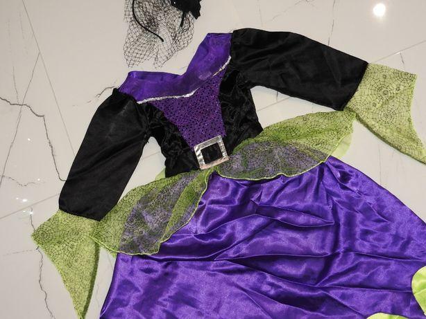 7-8 PAJĘCZARKA czarodziejka wróżka wiedźma czarownica strój karnawał Włodawa - image 2
