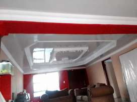 We are installing ceiling with an affordable price perfect job .