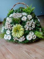 Kompozycja kwiatowa z suszków