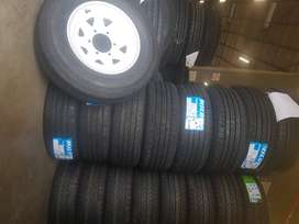 Truck and trailers tyres and rims