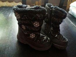 Jesienno-zimowe buciki dziecięce rozmiar 28