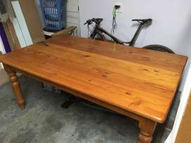 Oregon Pine Dining room table