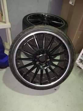 Mags with tyres for sale