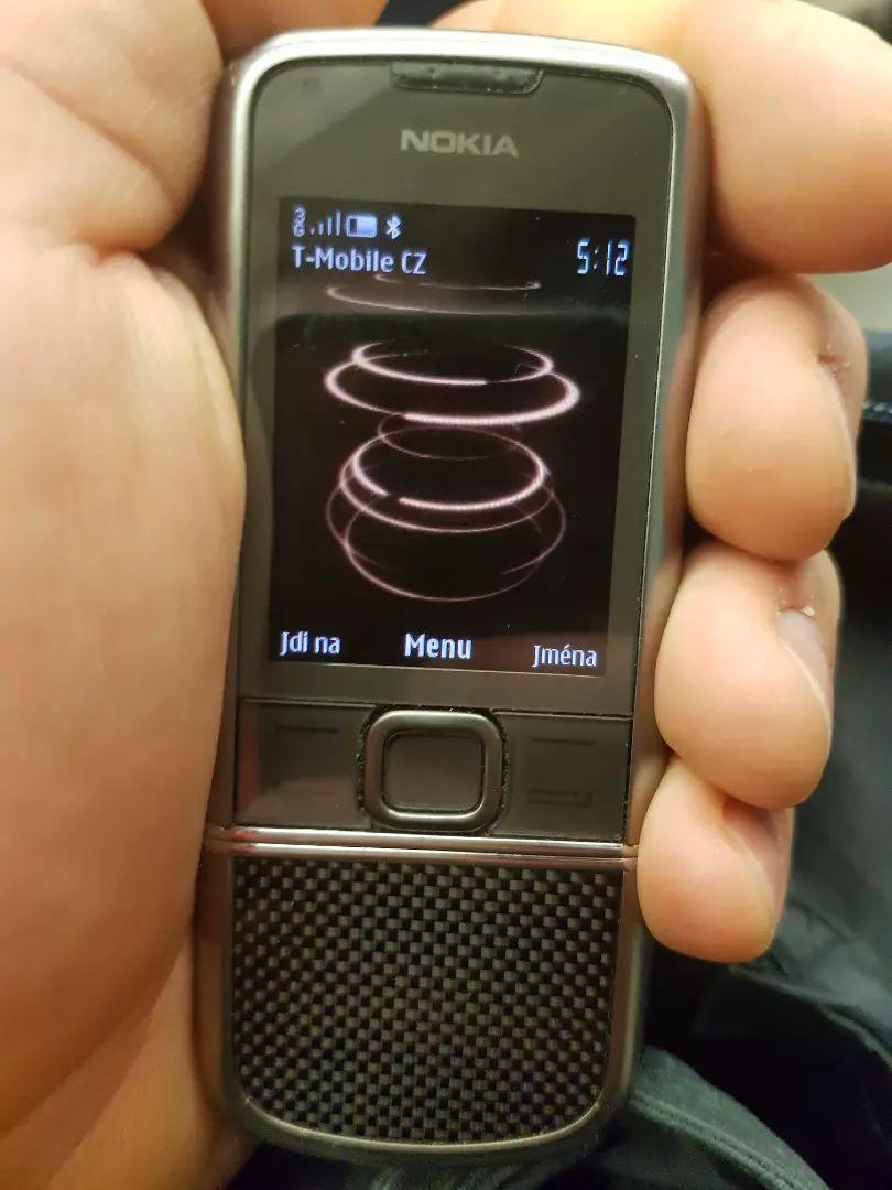 Nokia 8800 carbon 0