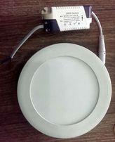 Светодиодный светильник 12W потолочный круглый