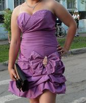 Продам выпускное платье на корсете