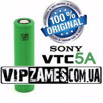 Аккумуляторы 18650 Sony VTC 5A 2600mAh 35A высокотоковый