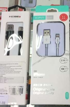 Strong Reliable Android and iPhone Charging Cables