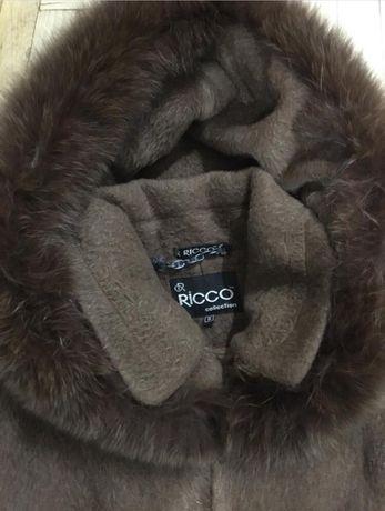 Зимнее шерстяное пальто S Киев - изображение 2