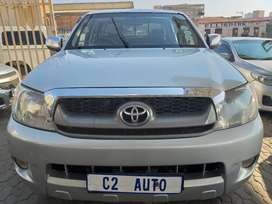 2008 Silver Toyota Hilux 2.7 VVTI Double Cab