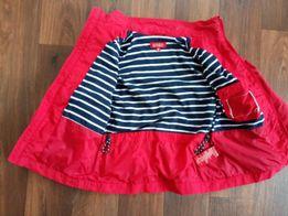 Красная ветровка H&M, рост 128