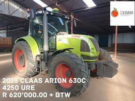 2015 CLAAS ARION 630C