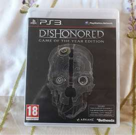 Dishonored GOTY Edition Ps3 game for sale!