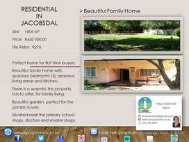R276 - BEAUTIFUL FAMILY HOME - RESIDENTIAL