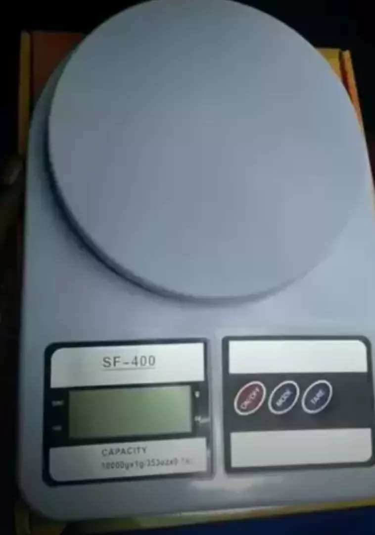 New kitchen scales now available with warranty 0