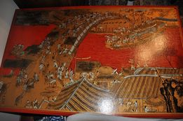 oryginalny stolik chiński