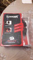Игровые наушники гарнитура Redragon Ridley Red-Black (64204)
