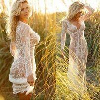 Пеньюар для фотосессии утра невесты, беременных, платье, S-ХXL