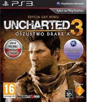 uncharted 3 ps3 pl oszustwo drake'a