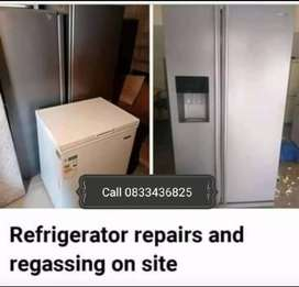 Refrigeration specialist on your premises
