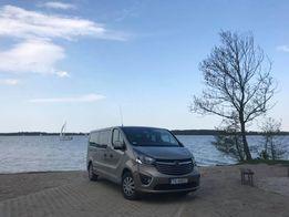 Wypożyczalnia / Wynajem Bus 9 osobowy, Opel VIVARO LONG 2017. Kielce
