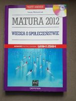 Testy i arkusze, z płytą, Wiedza o społeczeństwie, Matura 2012, operon