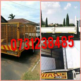 Trucks and bakkies available for furniture