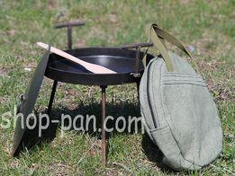 Сковорода из диска бороны для пикника садж гриль мангал