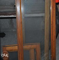 Окна деревянные, без коробок, б/у. Для хоз. построек, теплиц...