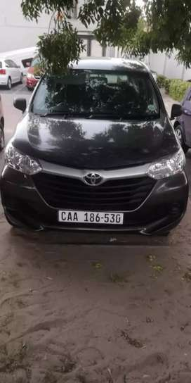 I'm selling avanza 1.3 for R140000