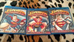 Blu Ray диски Супермен по комиксам DC