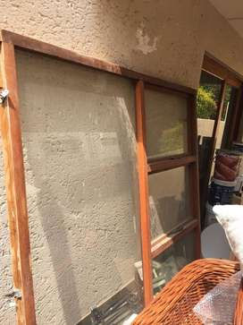 2nd hand Wooden window frame