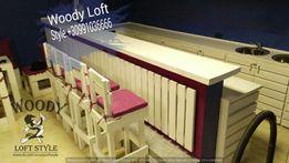 Мебель из металла, дерева и поддонов Столы,диваны для кафе,магазинов