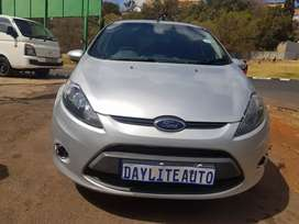 2012 Ford Fiesta 1.6 Automatic