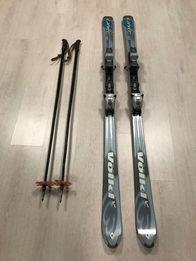Горные лыжи Volkl Carver V3 c креплениями Marker M10