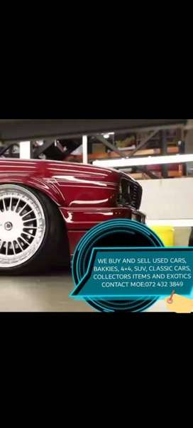 We buy and sell new and used cars