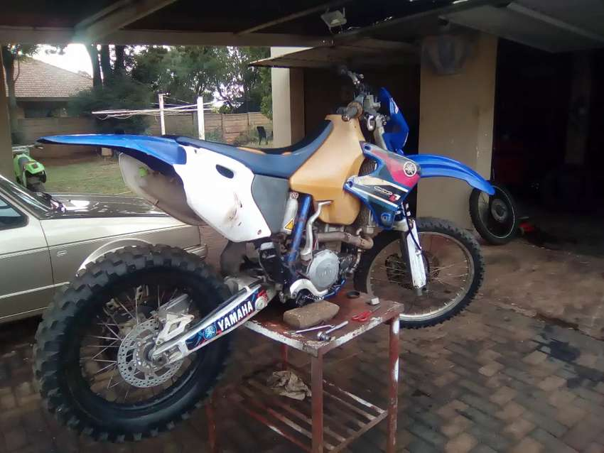 Needs a bit of work and parts like exhaust and throttle cable 0